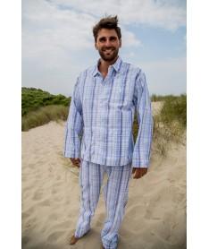 Pyjama long homme adulte,...