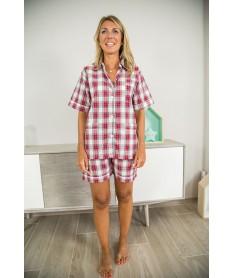 Pyjama court écossais...