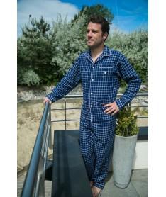 Pyjama long homme flanelle...