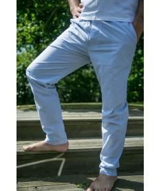 Pantalon popeline rayure...