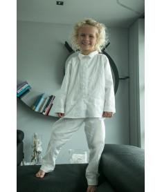 Pyjama long fille plumetis...