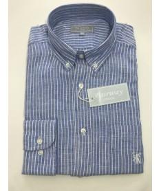 chemise lin homme rayures...