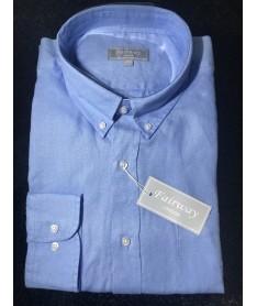 chemise lin homme bleu clair