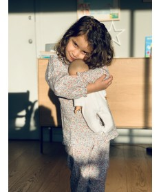 Pyjama long fille petites...