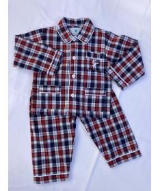 Pyjama Long Garçon Popeline...