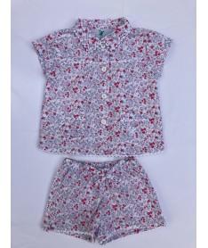 Pyjama Court Fille imprimé...