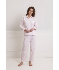 Pyjama long popeline...